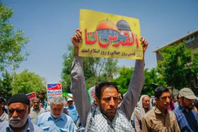 راهپیمایی روز قدس در نجف آباد