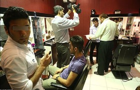 ۱۳ آرایشگاه متخلف مردانه پلمب شد