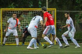مسابقات فوتبال کارکنان شهرداری اصفهان جام رمضان