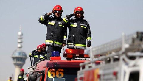 ارتقای کیفیت خدمات آتشنشانی در ساوه