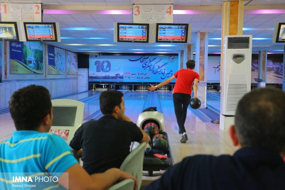 برگزاری مسابقات رنکینگ در باشگاه بولینگ صفه