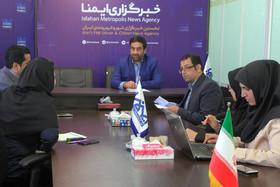 بازدید مدیر کل پیشگیری و رفع تخلفات شهری اصفهان از خبرگزاری ایمنا