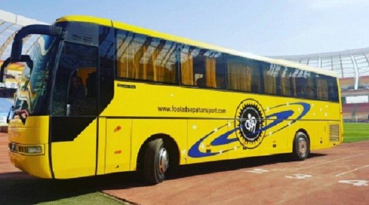 اتوبوس باشگاه سپاهان به روز می شود