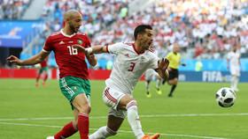 دیدار تیم های ملی ایران و مراکش