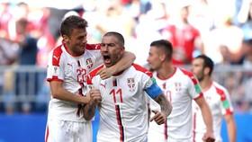 شوت صربستانیِ کلاروف، کاستاریکا را شکست داد