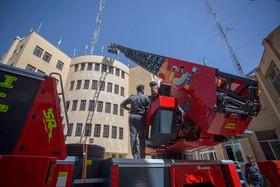 تجهیزات جدید آتش نشانی به صورت رسمی افتتاح شد