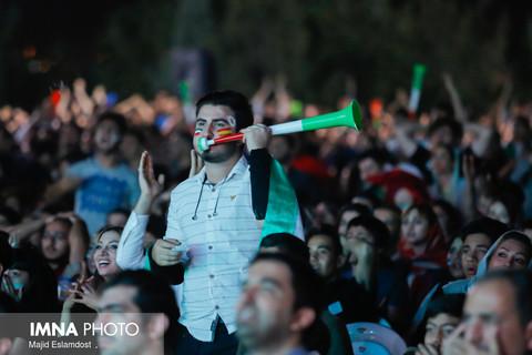 پخش مستقیم مسابقه تیم ملی ایران در جام جهانی در کوه صفه