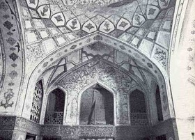 Khaje Petros house an imitation of Ali Qapu palace