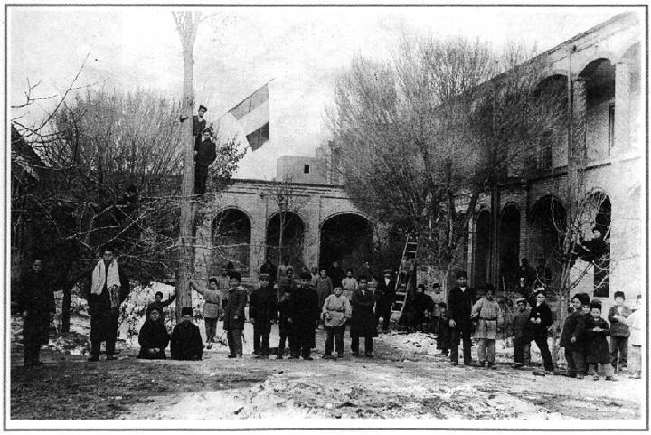 Isfahan French School; safe haven for war-torn French and Spanish children