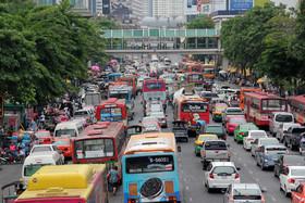 دومین شهر پرترافیک جهان کدام است؟