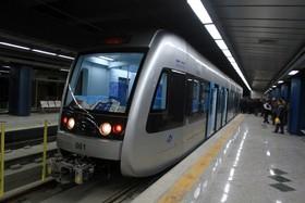آیین بهره برداری از فاز سوم خط یک مترو اصفهان آغاز شد