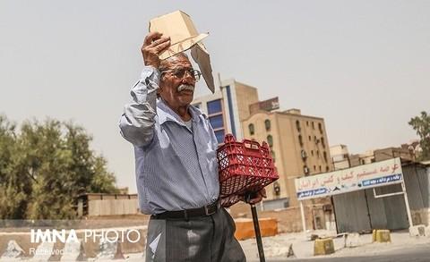 غبار صبحگاهی و تداوم گرما پدیده غالب اصفهان