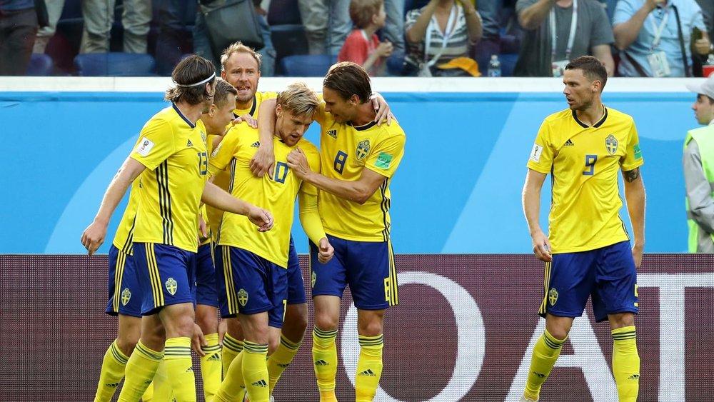 فورسبرگ سوئد را به جمع ۸ تیم نهایی فرستاد