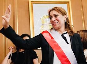 یک زن شهردار شد