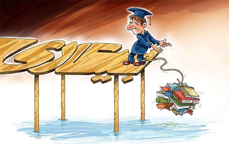 بیکاری ۳۸ درصد فارغ التحصیلان دانشگاهی