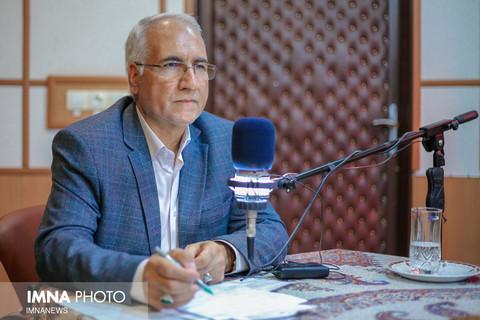 حضور دکتر نوروزی شهردار اصفهان در استودیو صدای شهر