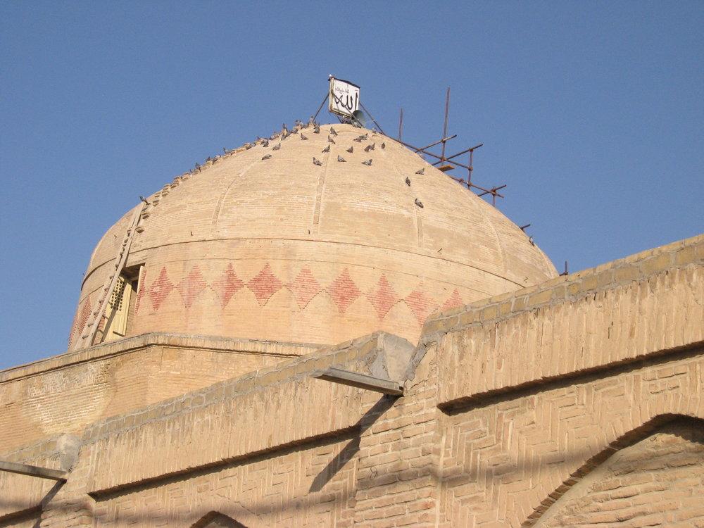 پایان مرمت و بازسازی ضلع شمالی مسجد جامع گلپایگان