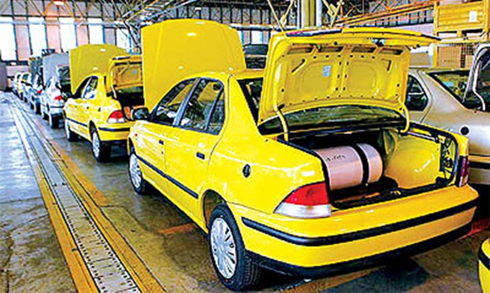 یک میلیون و ۴۶۵ هزار تاکسی، ون، وانت و مسافربر شخصی CNG سوز میشود