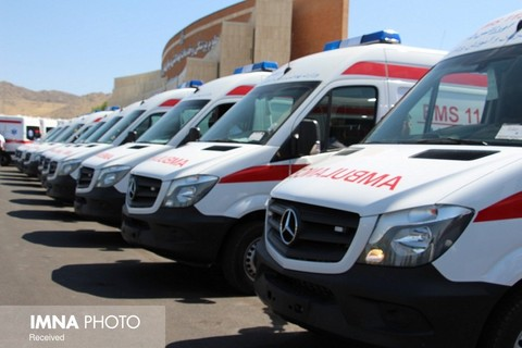 یک دستگاه آمبولانس به اورژانس ۱۱۵ گلپایگان اضافه شد/دریافت مجوز احداث پایگاه سوم اورژانس