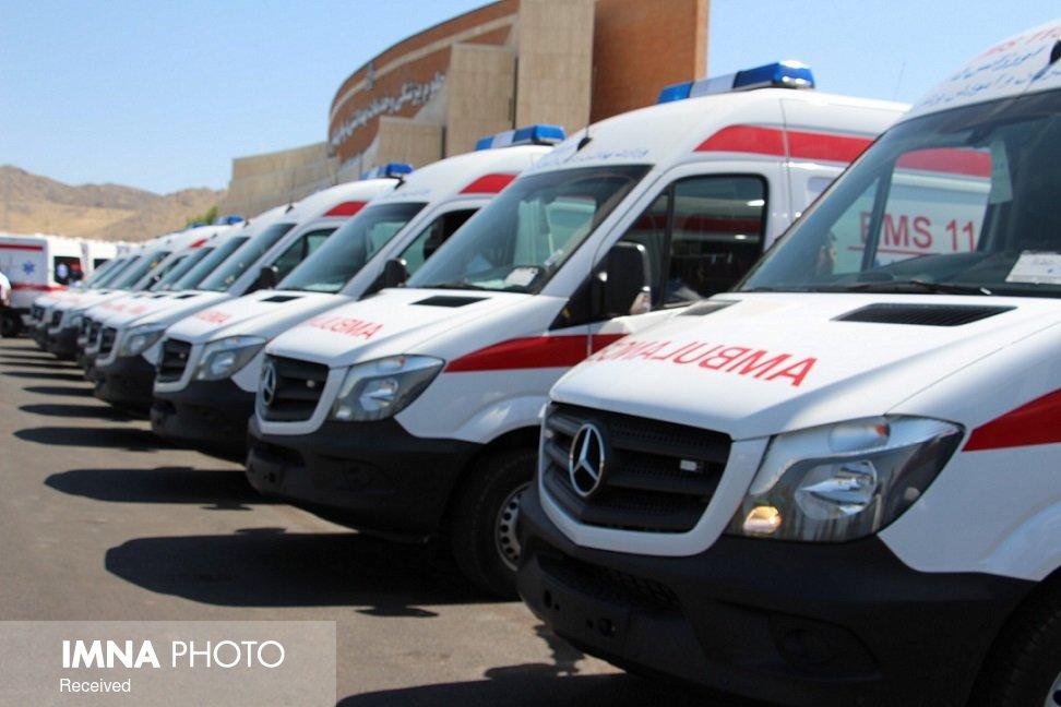 خودروهای آمبولانس وارداتی از عوارض گمرکی معاف شدند