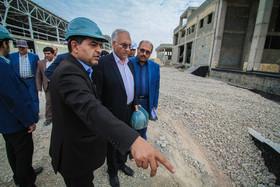 بازدید شهردار اصفهان از پروژه شرکت نمایشگاه ها