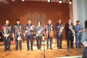 Naghmeh Isfahan Music Band shined in International Europe Folklore Music Festival