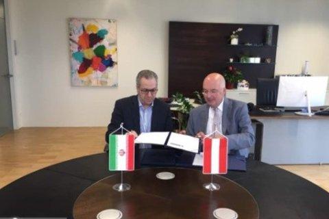 Austria welcomed Farsi