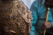 Exquisite Persian art of metal working