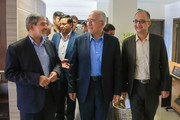 بازدید دکتر نوروزی به همراه معاونین از معاونت خدمات شهری شهرداری اصفهان