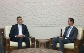 قدردانی اسد از ایران