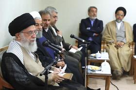 دستور رهبر انقلاب به رییس جمهور برای برخورد قاطع با متخلفین اقتصادی