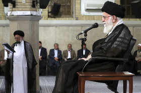 دیدار کارگزاران حج با حضرت آیت الله خامنه ای رهبر انقلاب اسلامی