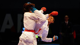 Iranian karate team bring home medals in 15th Asian Karate Championships
