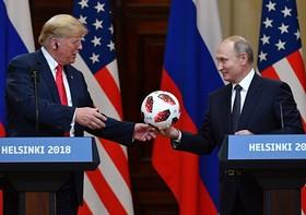 پوتین توپ را به زمین آمریکا انداخت
