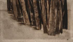 """نشان""""درختان سهراب سپهری"""" در ورودی کاشان"""