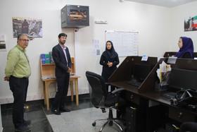 بازدید مدیر منطقه ۱۴ شهرداری اصفهان از خبرگزاری ایمنا