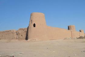 Adobe castle of Nushabad