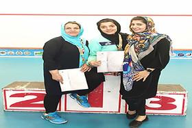 مدال طلا و برنز مسابقات اسکواش پیوند اعضاء برای بانوان اصفهانی
