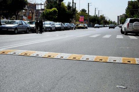 کم شدن سایه سرعتکاههای مزاحم از سر شهر حمیدیا