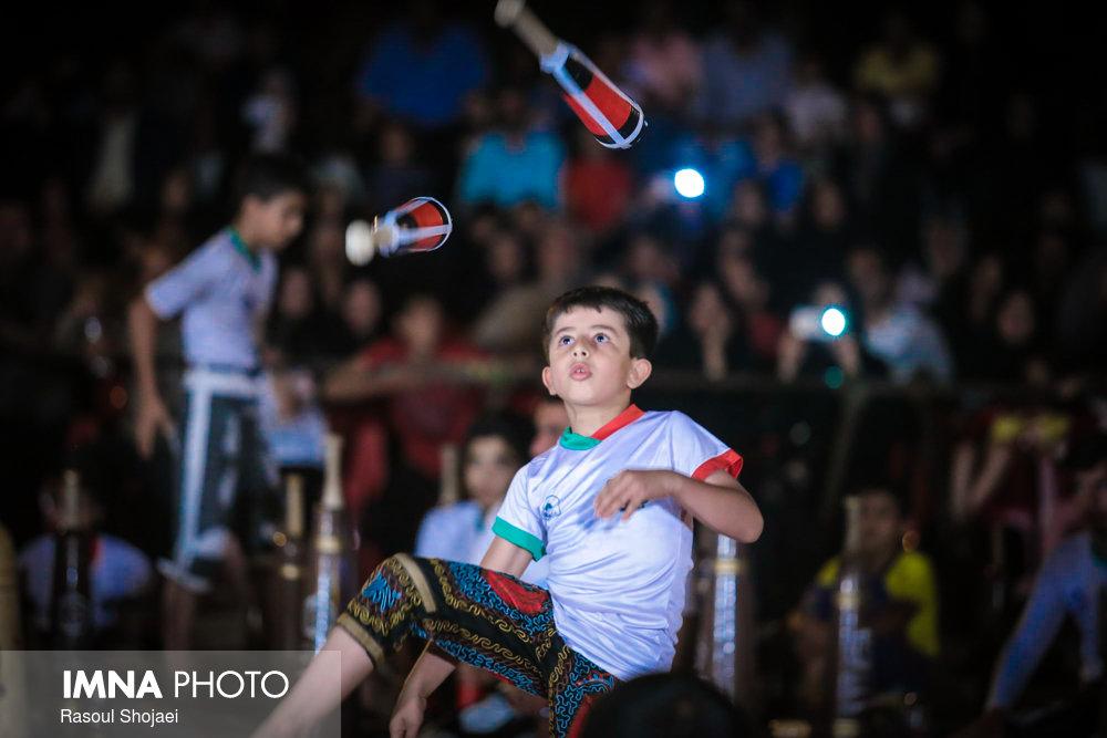 جشن ورزش باستانی در محله خوراسگان