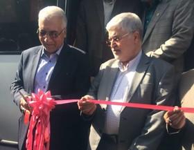 خطوط تندرو خیابانهای شیخ بهایی و امام خمینی(ره) افتتاح شد