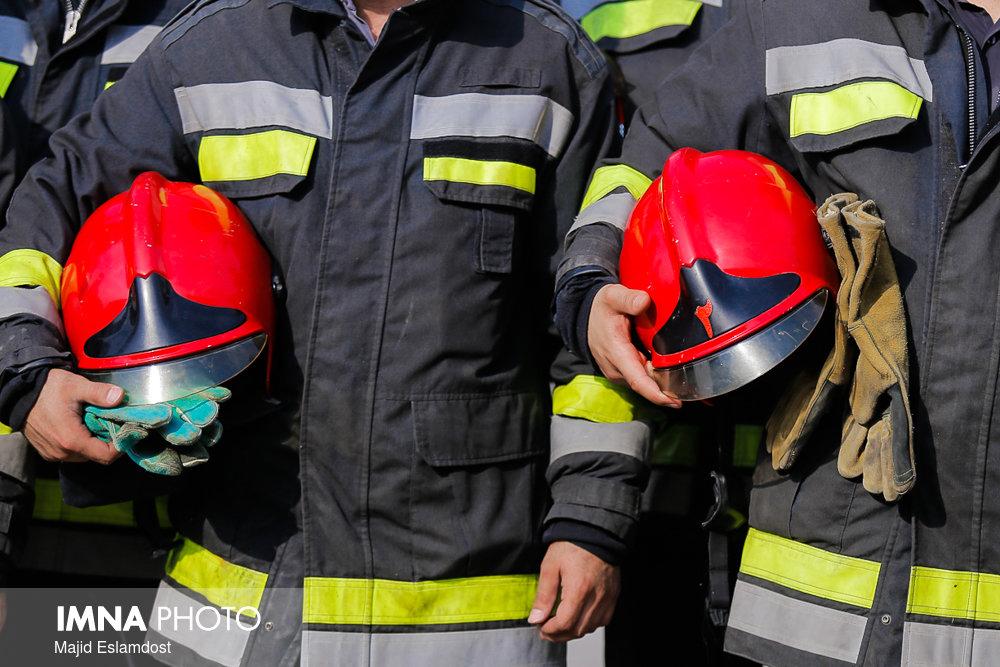 آمادهباش کامل سازمان آتشنشانی کرمانشاه در روز انتخابات