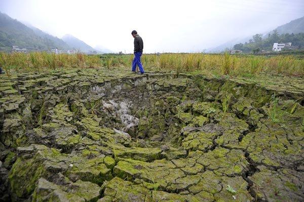 دشتهای ایران روزانه یک میلی متر فرو می رود