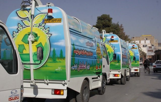 Isfahan pioneer in waste source separation