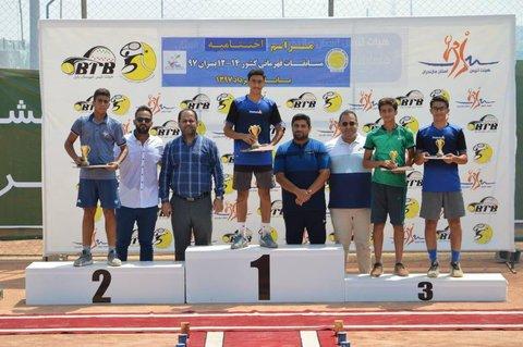 تنیسورهای اصفهانی با ۳ برنز، چهارم شدند