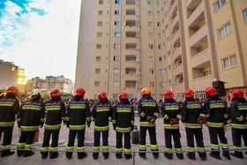 نجات ۱۲۸ نفر در عملیاتهای امداد و نجات آتشنشانی شهرضا