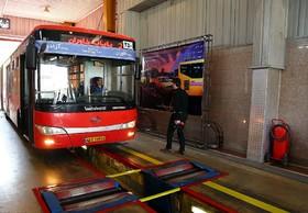 ممنوعیت فعالیت اتوبوسهای فاقد معاینه فنی