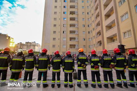 نجات 128 نفر در عملیاتهای امداد و نجات آتشنشانی شهرضا