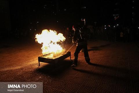تمهیدات آتشنشانی رودسر برای چهارشنبه پایان سال