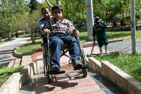 ۳ پارک گلپایگان برای استفاده معلولان مناسبسازی شده است